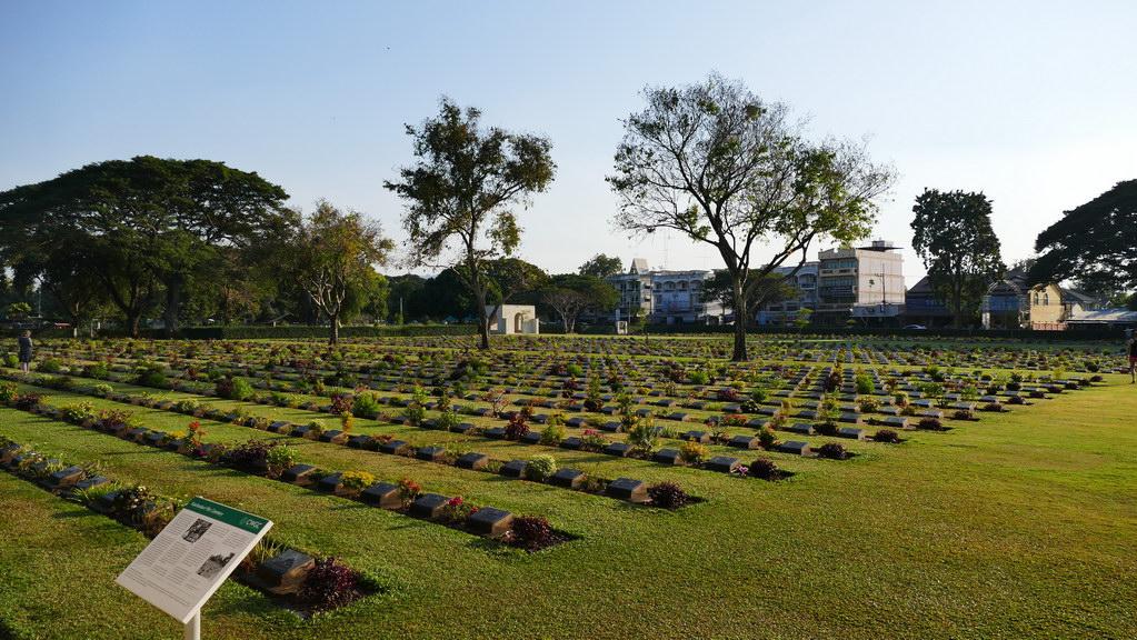 Soldatenfriedhof Don Rak in Kanachaburi