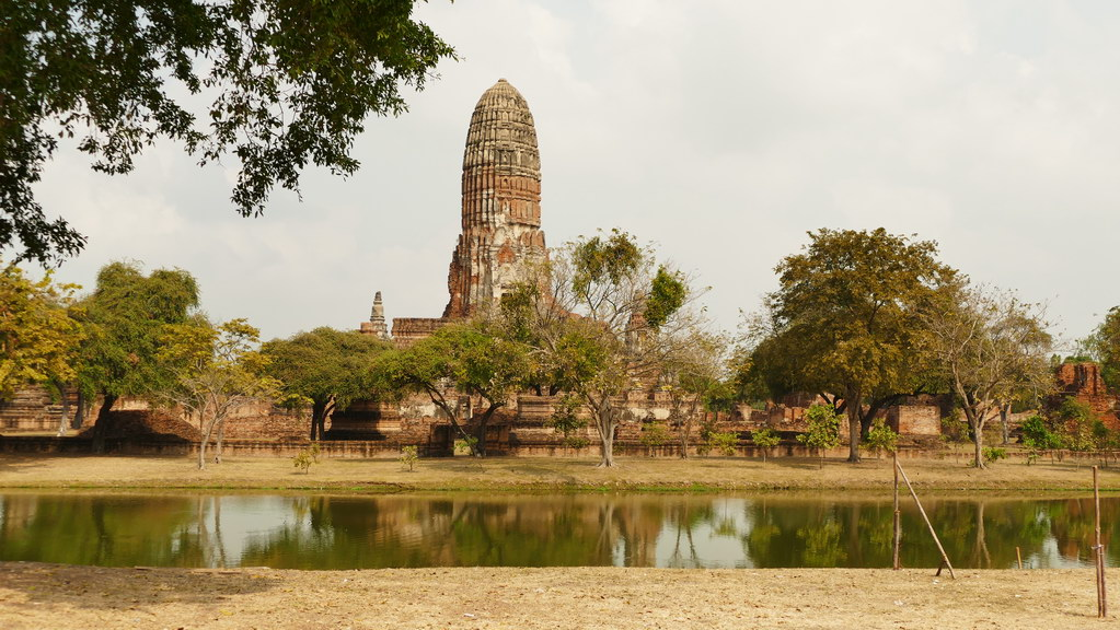 Ayutthaya Tempel Cheddi