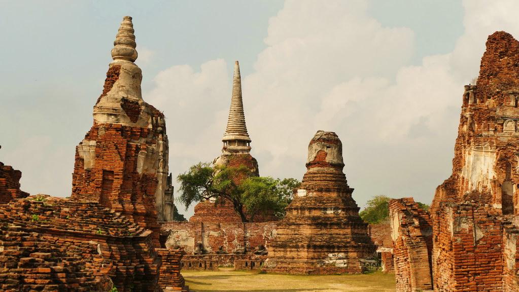 Ayutthaya Tempeltürme