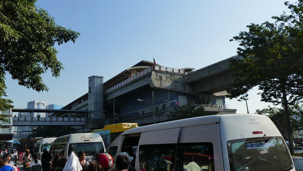 Mo Chit Endstation des Skytrain