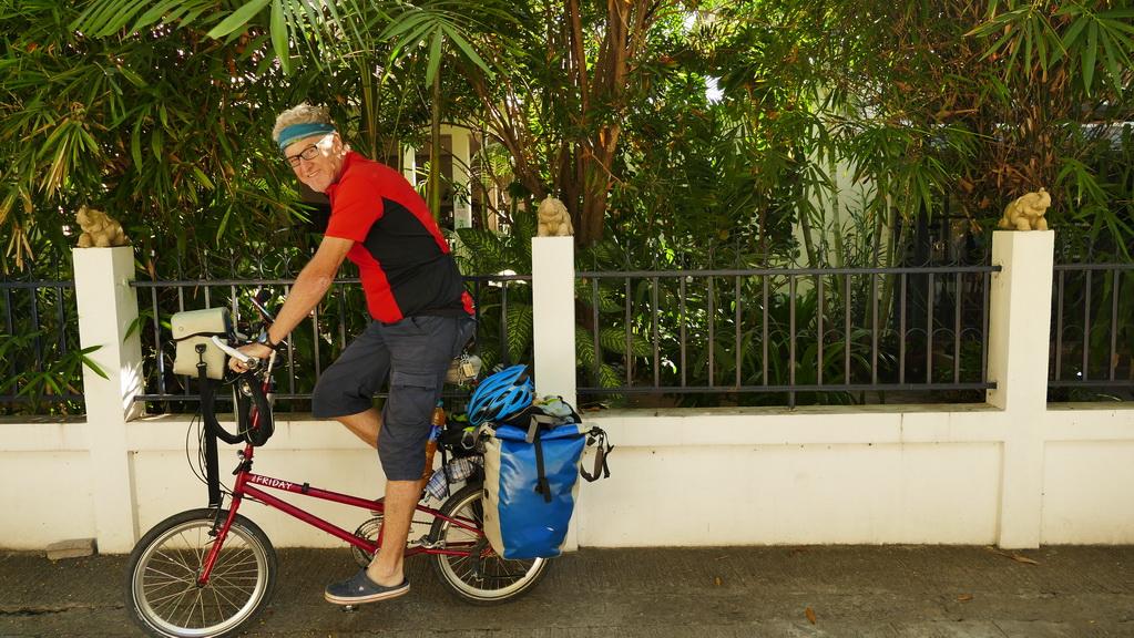 chiang mai-start-mit dem-fahrrad