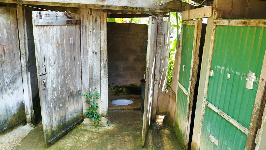 Toilette in Nam Tok