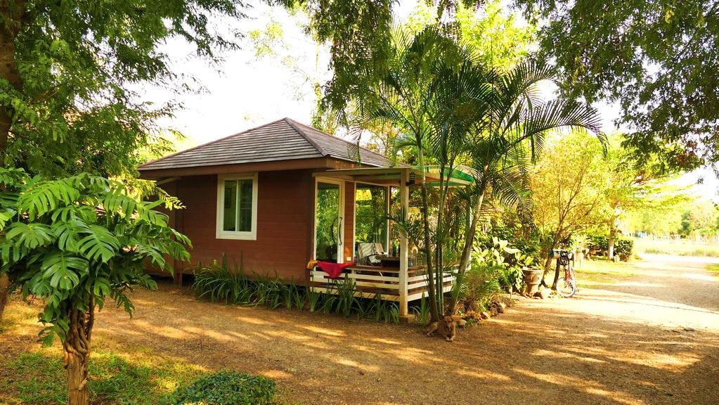 Bungalow im Dschungel