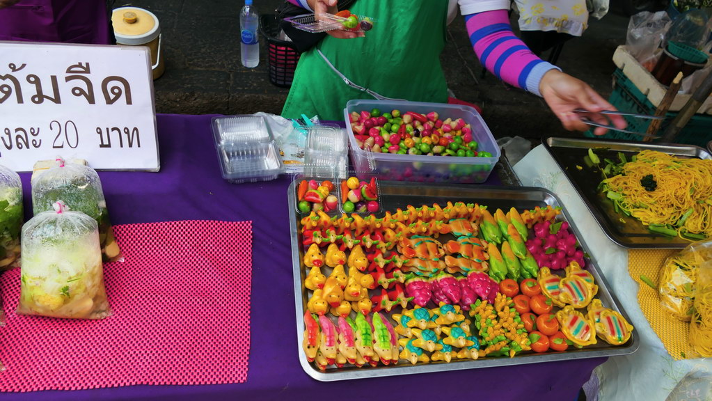 Süße Verführung auf dem Nachtmarkt