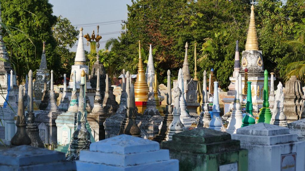 Buddhistischer Tempel in Kanachaburi