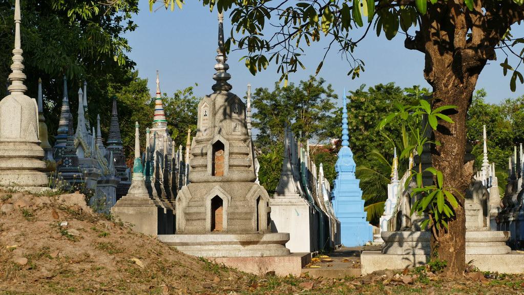 Tempel in Kanachaburi