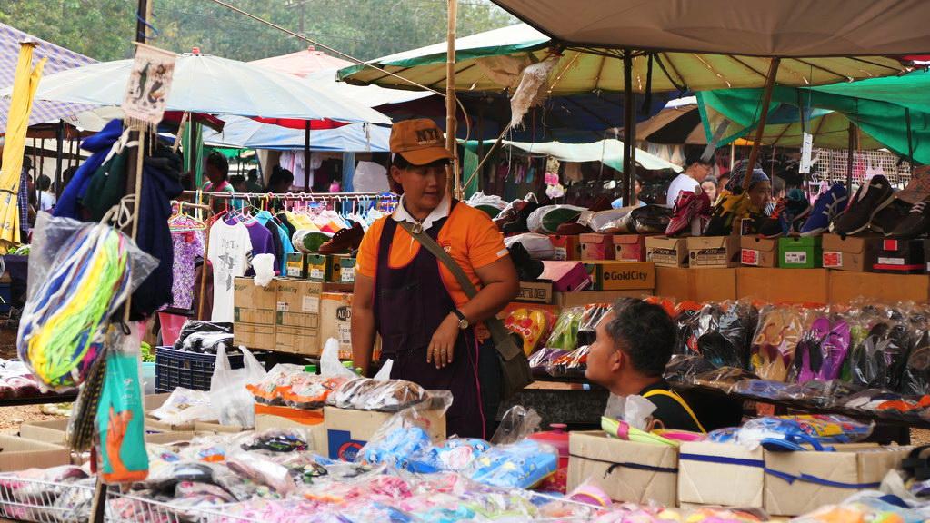 Nachtmarkt von Say Yok