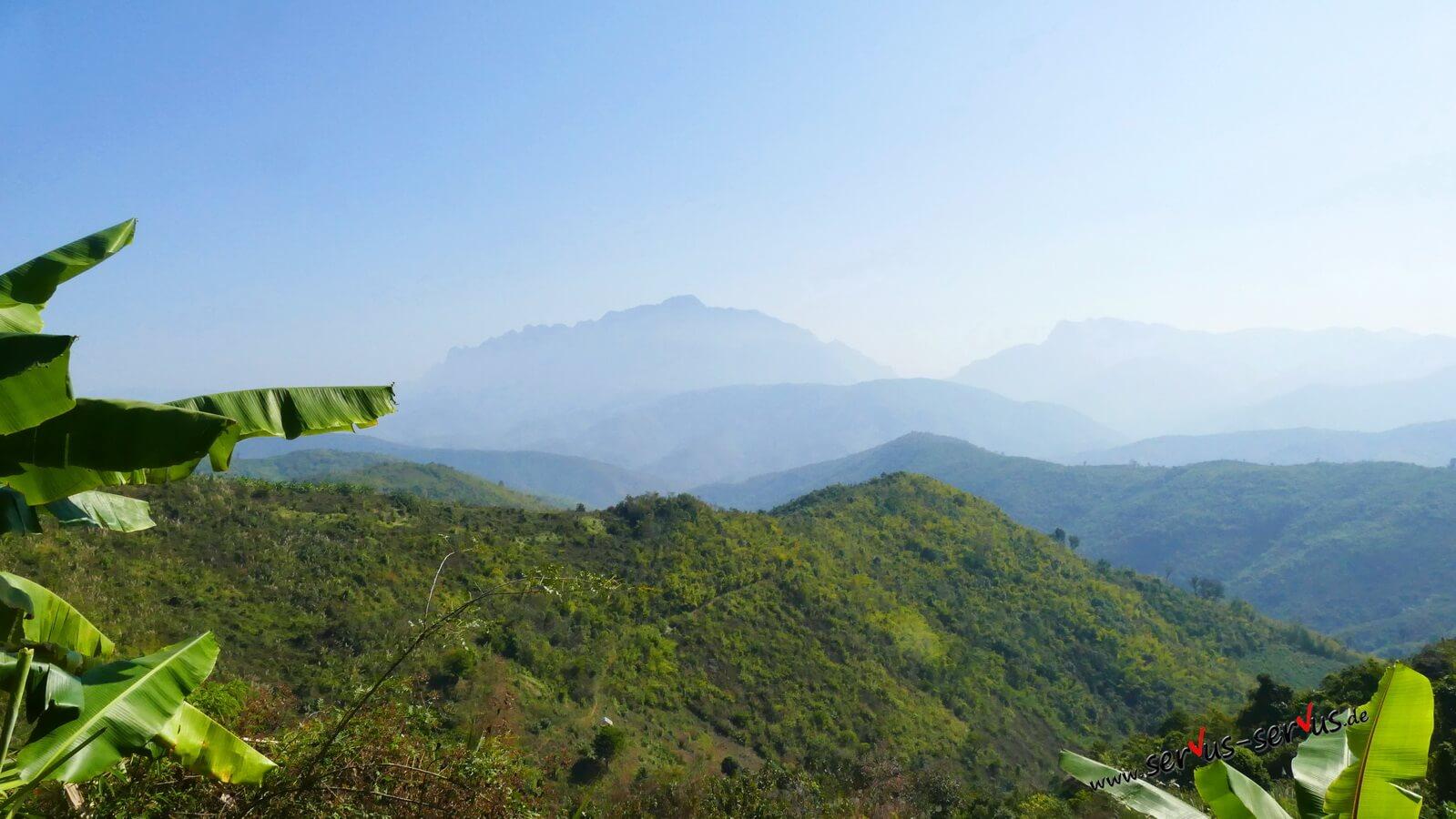 Berge, Laos
