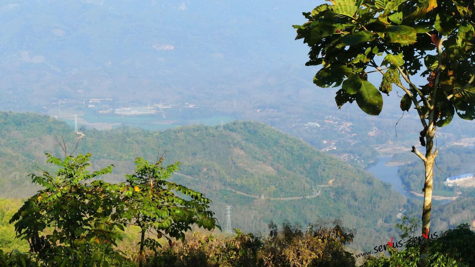Laos, Radtour nach Vang Vieng