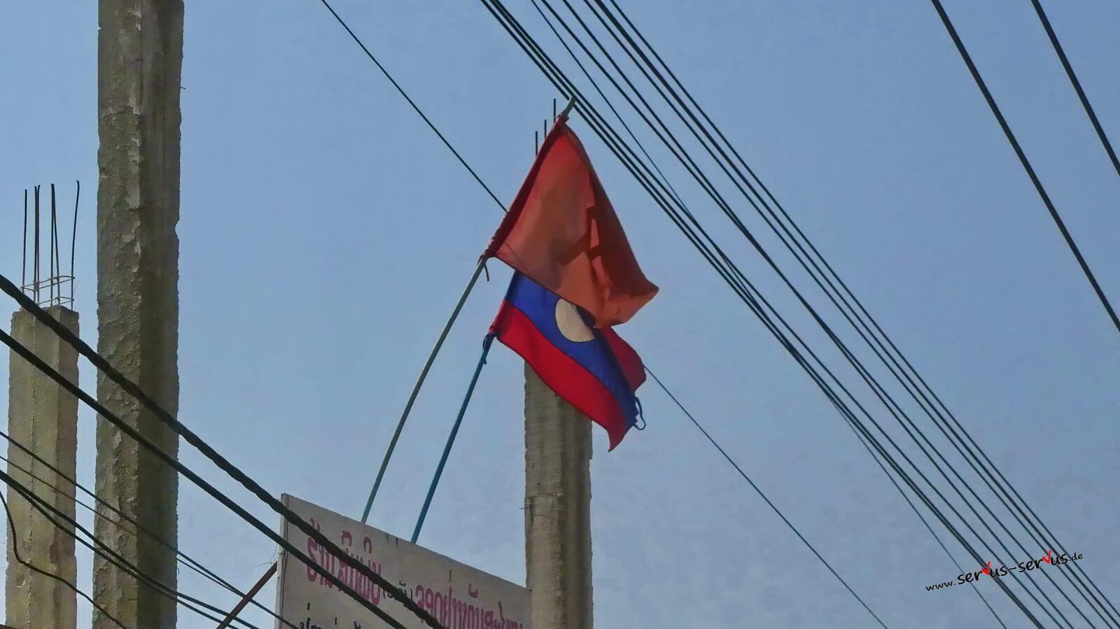 Flagge Laos