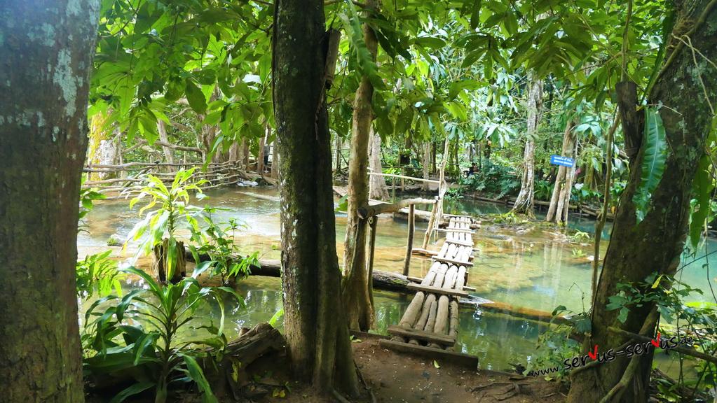 bambusstangen-kuang si-wasserfall