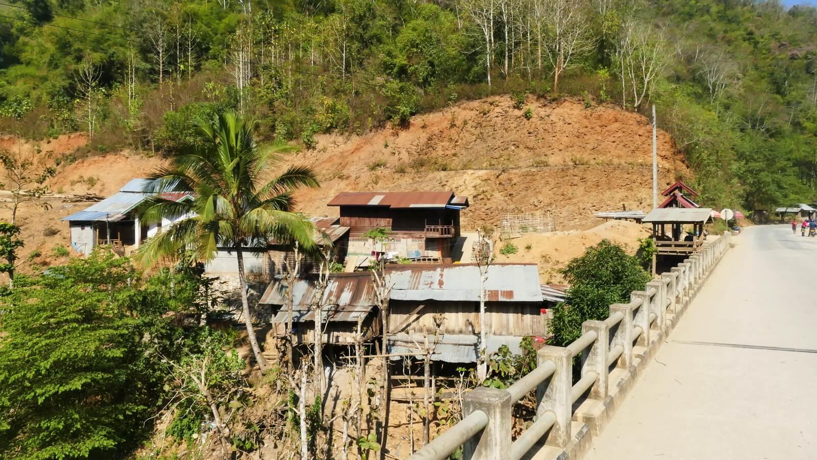 Siedlung-Laos