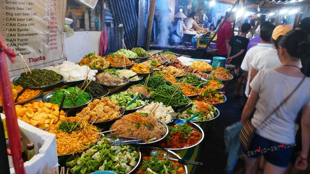 buffet-luang prabang-laos