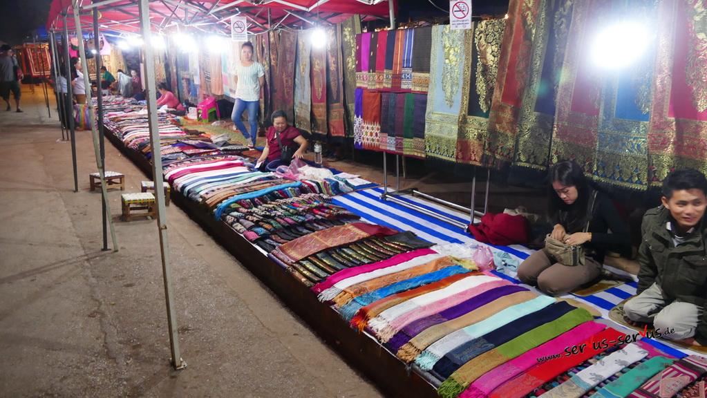 nachtmarkt-luang prabang-laos