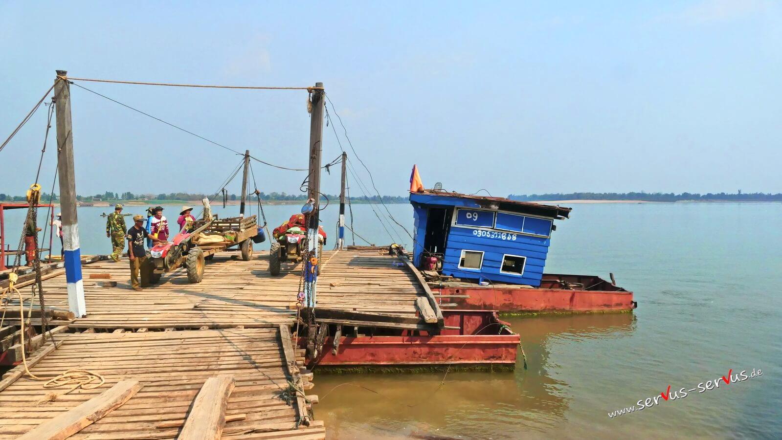 Mekong in Champasak. Laos