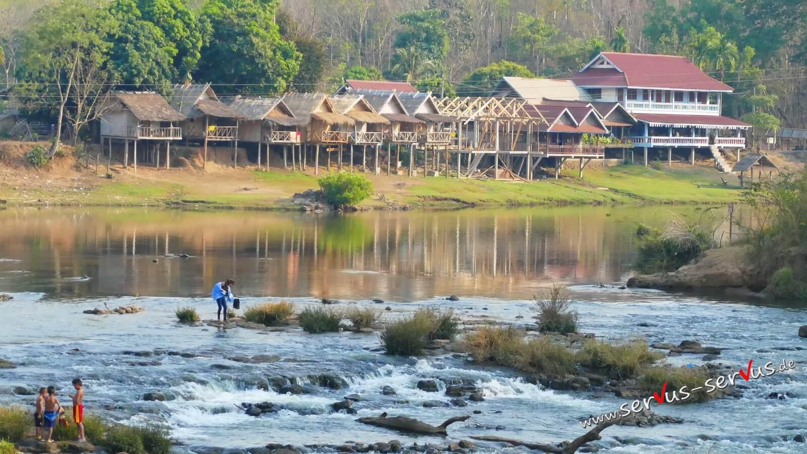 Tad Lo, Laos, Bolavenplateau,