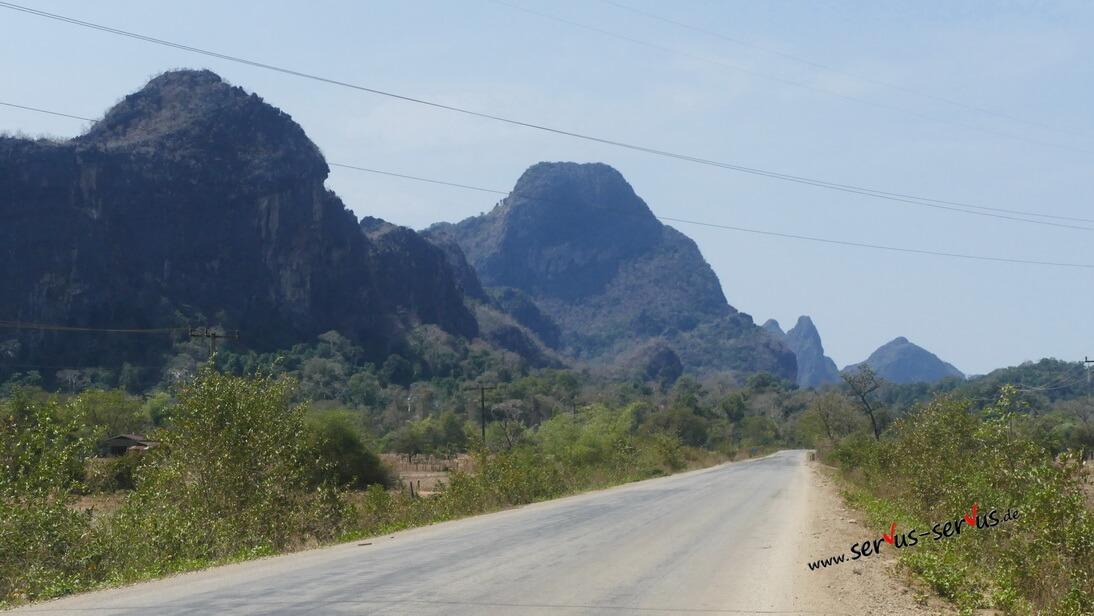 Karstberge, Laos, Thakthet,