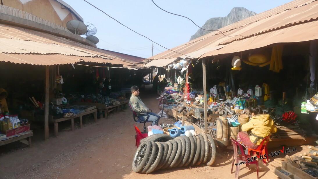 Laos, Markt,
