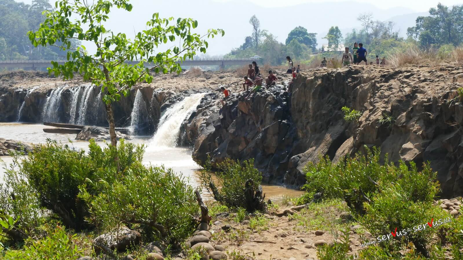Tad Se Noy, Wasserfall, Laos, Bolavenplateau