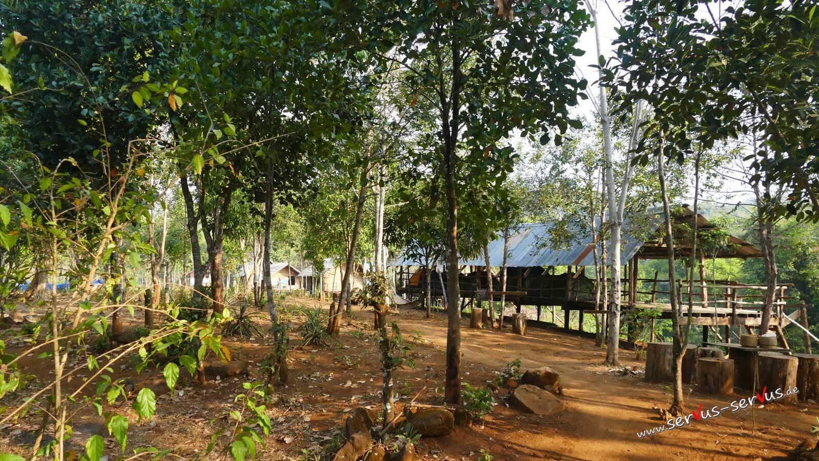 Bolaven, Homestay, Laos, Tad Tayicseua Wasserfall