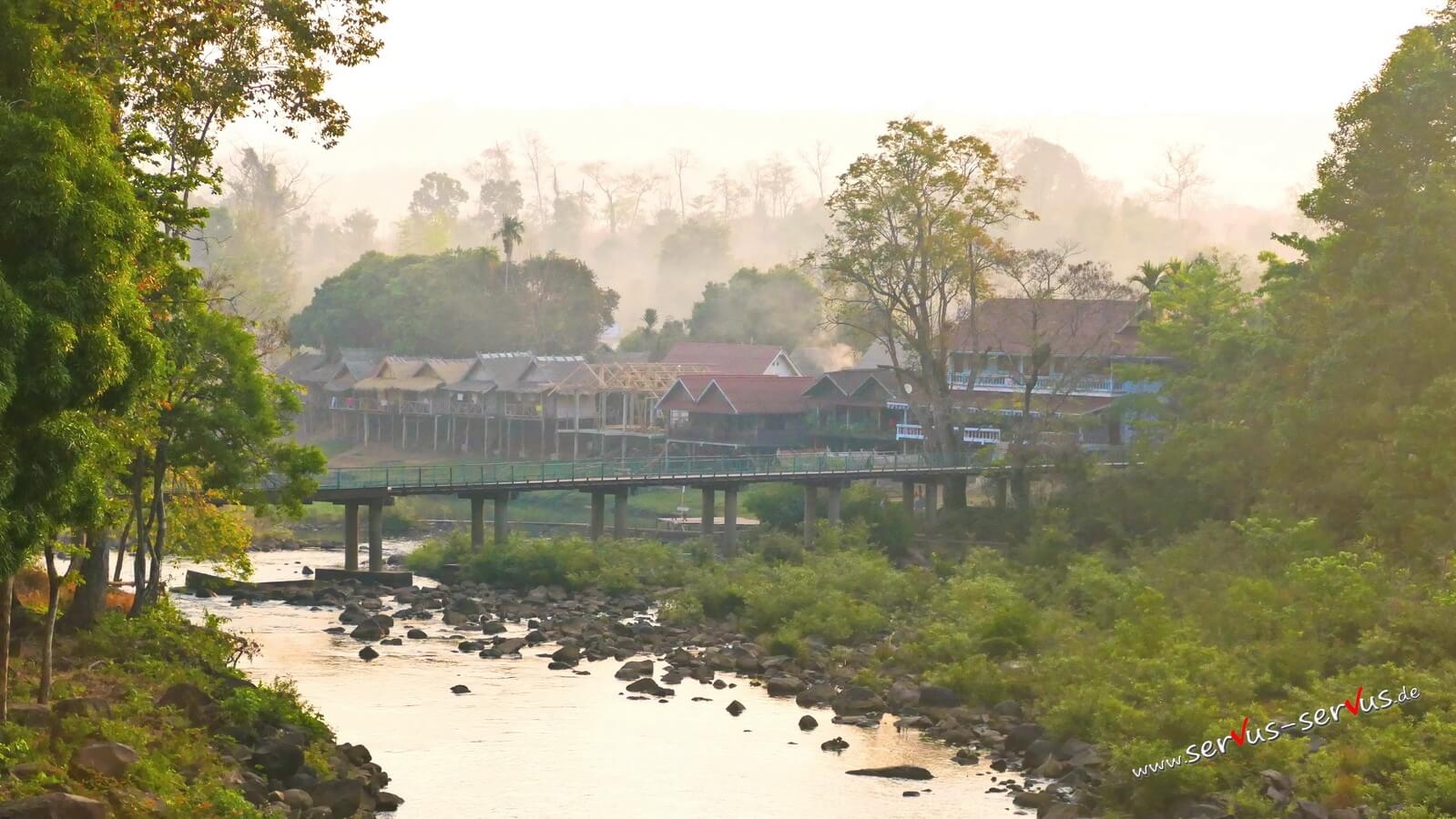 Tad Lo, Laos, Bolaven-Schleife
