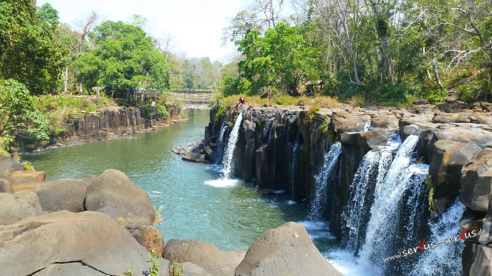 Wasserfall, Laos, Tad Pasuam, Bolavenplateau