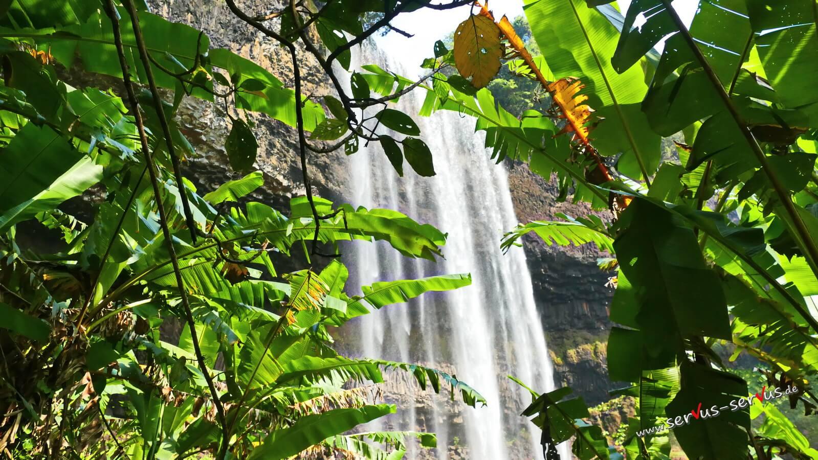 Wasserfall, Laos, Bolavenplateau,
