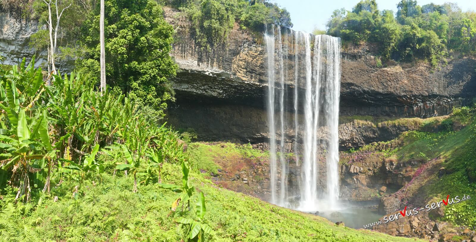 Laos, Wasserfall, Bolavenplateau