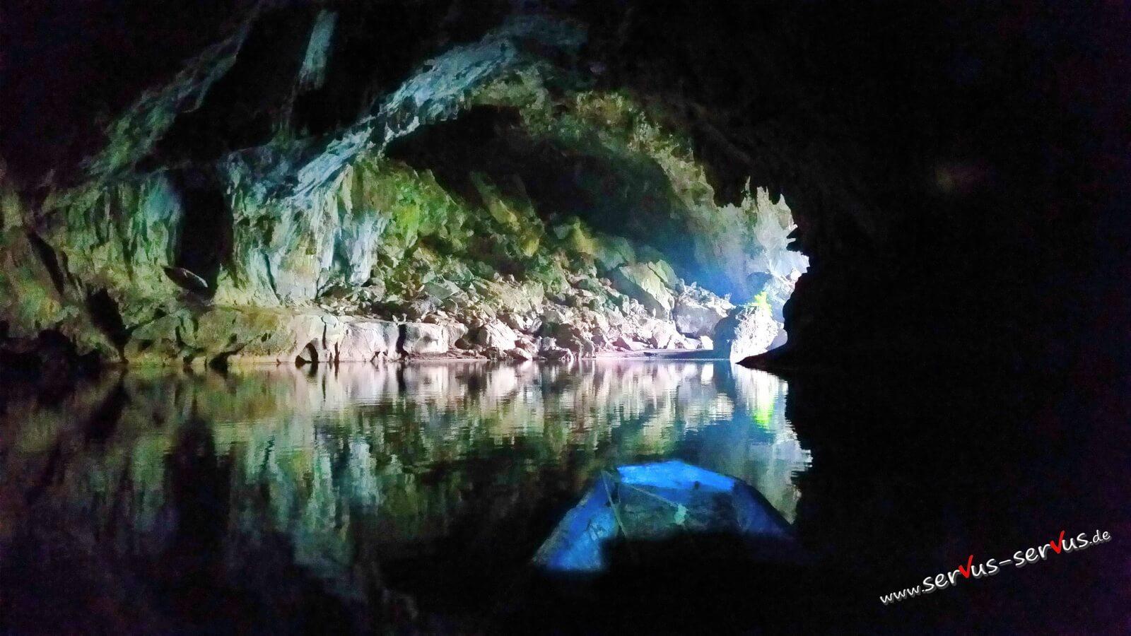 Ende der Kong Lor Cave
