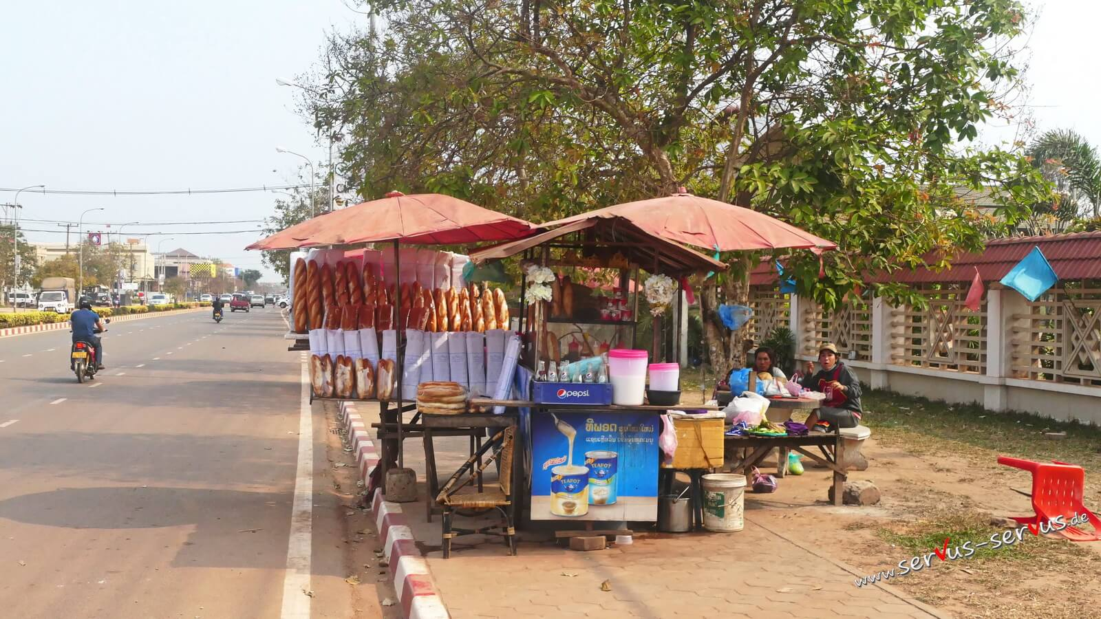 Baguette, Laos, Vientiane,