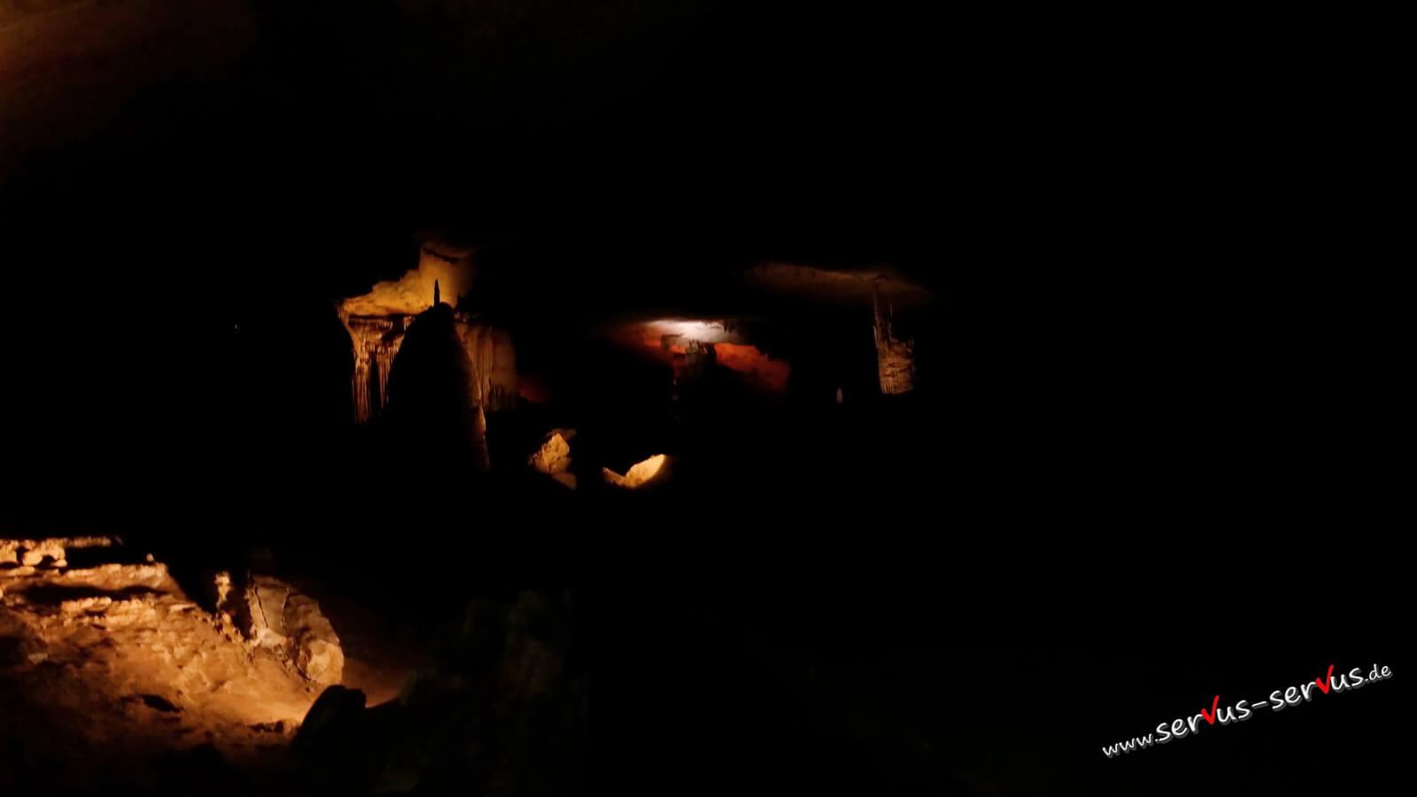 Kong Lor Höhle, Tropstein