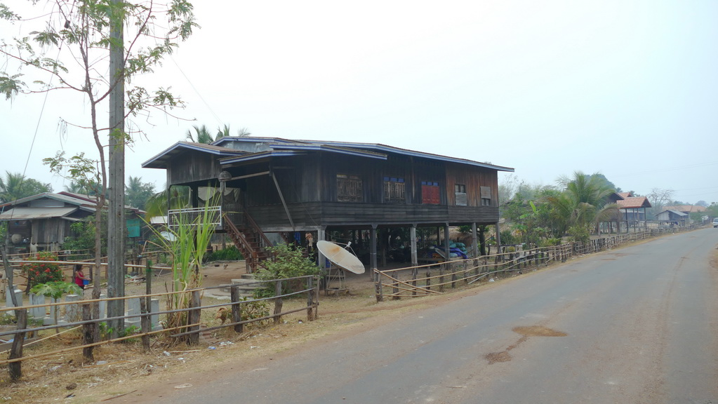 Stelzenhaus in Laos