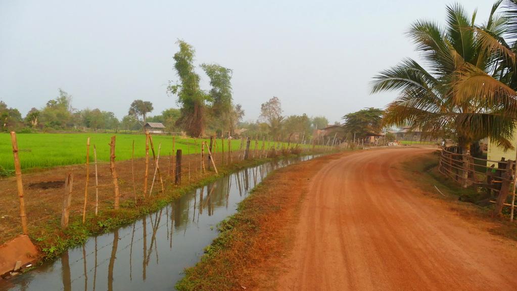 Laos- Weg am Mekong