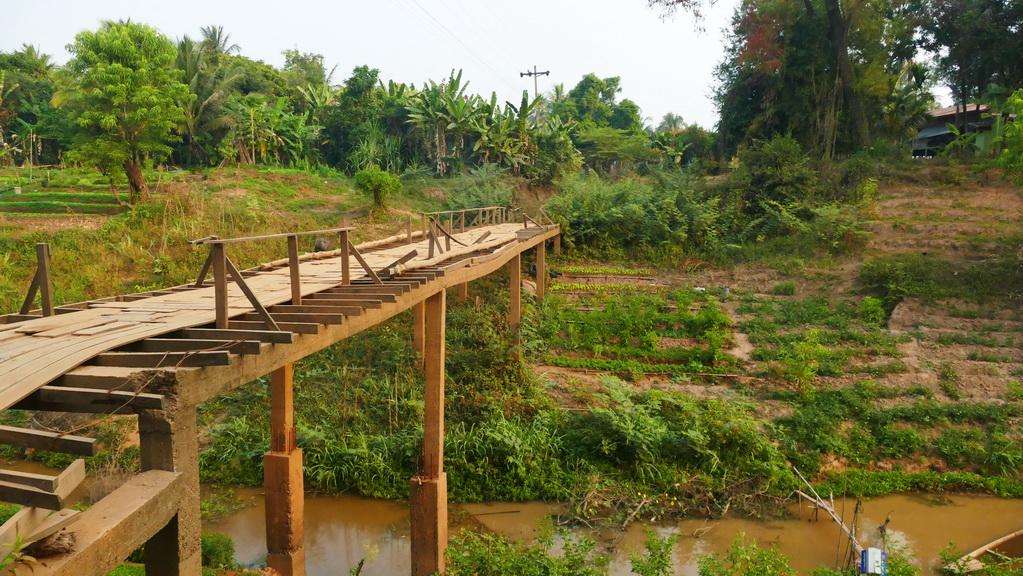 Einfache Brücken für Fußgänger und Radler