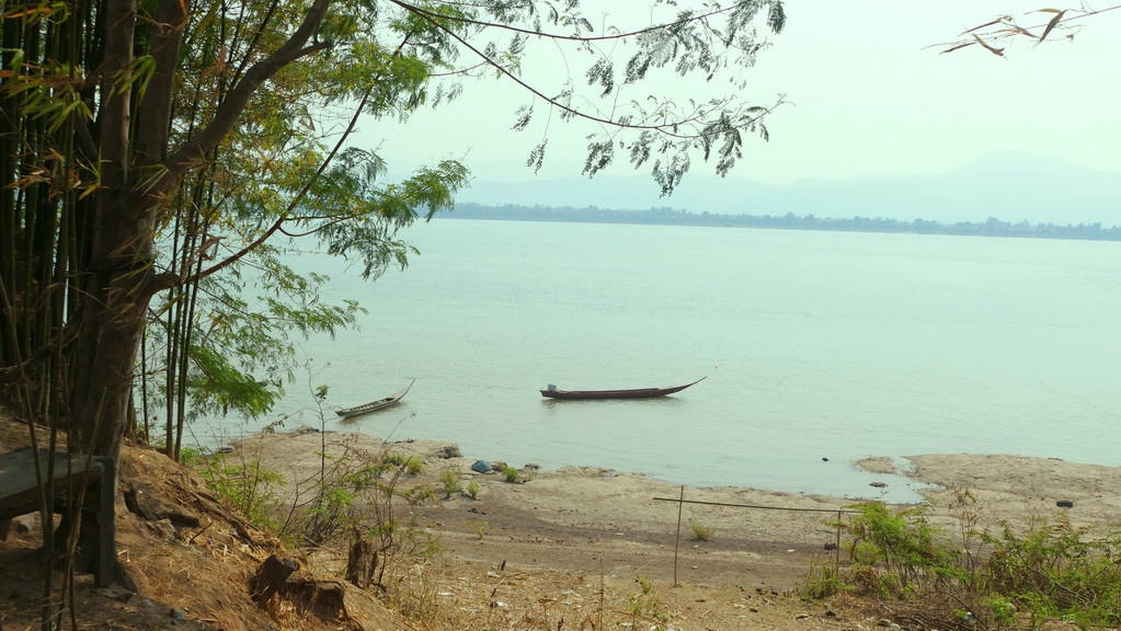 Am Mekong in Laos