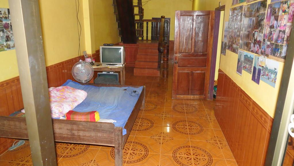 Bett im Hotel