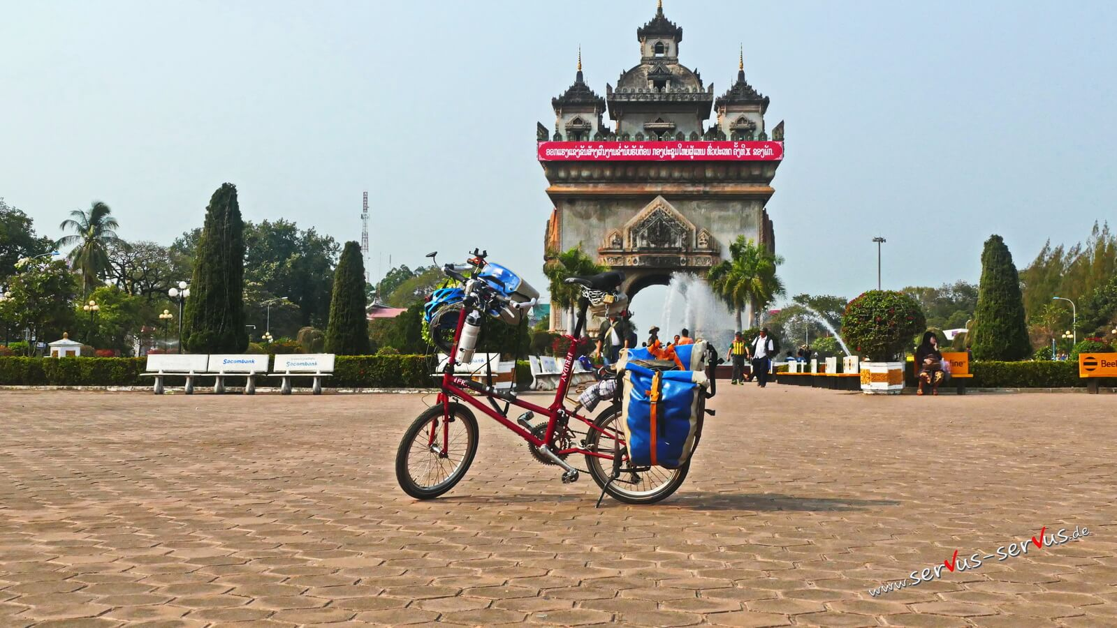 Patuxai, Laos Vientiane