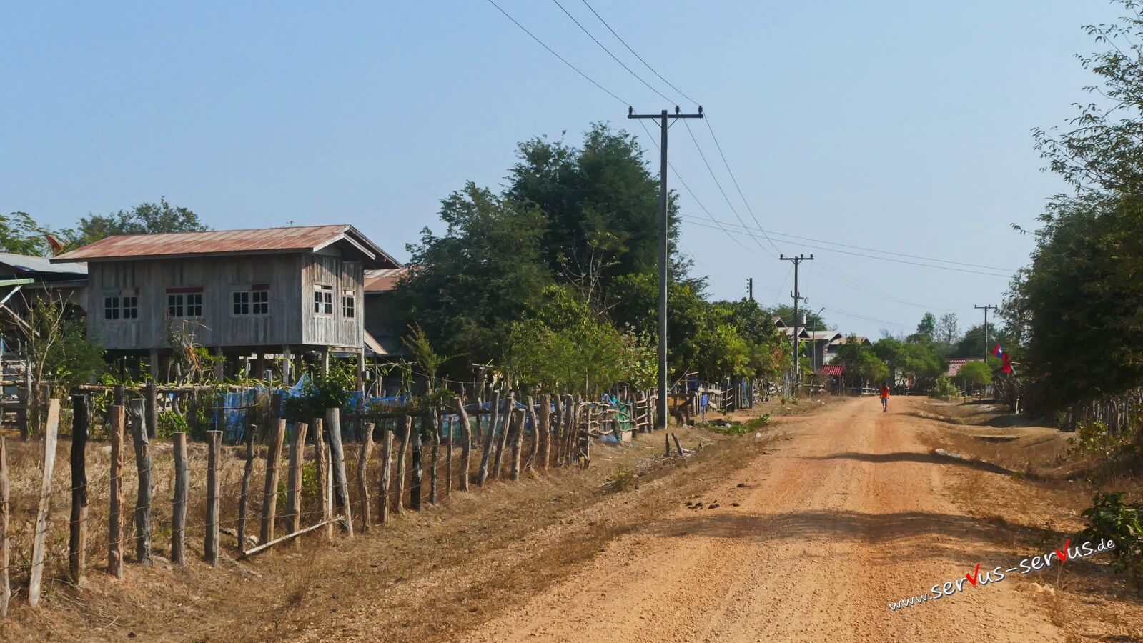 Dorf in Laos bei Savannakhet