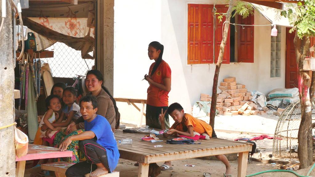 Pause am Mekong