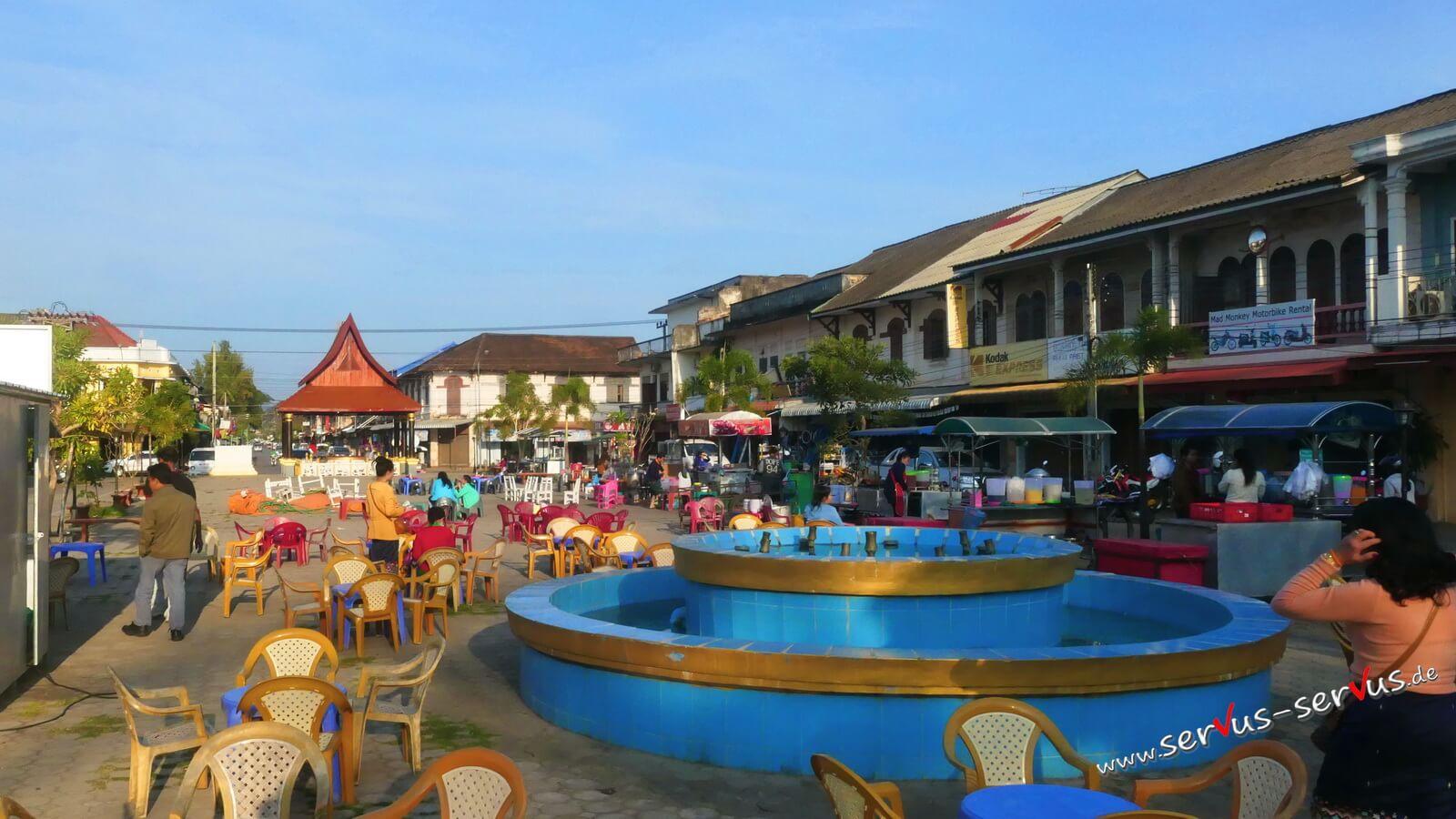 Marktplatz von Thakhet