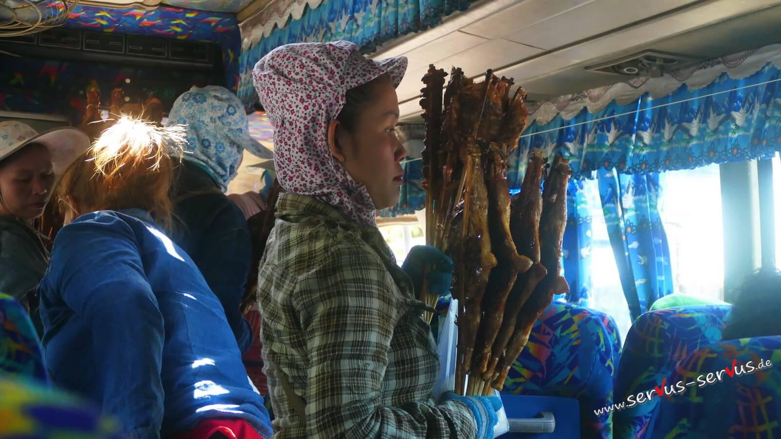 bus, verplfegung vieng kham