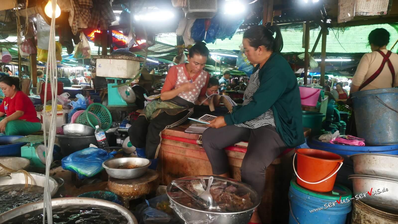 fleischmarkt, laos,vientiane