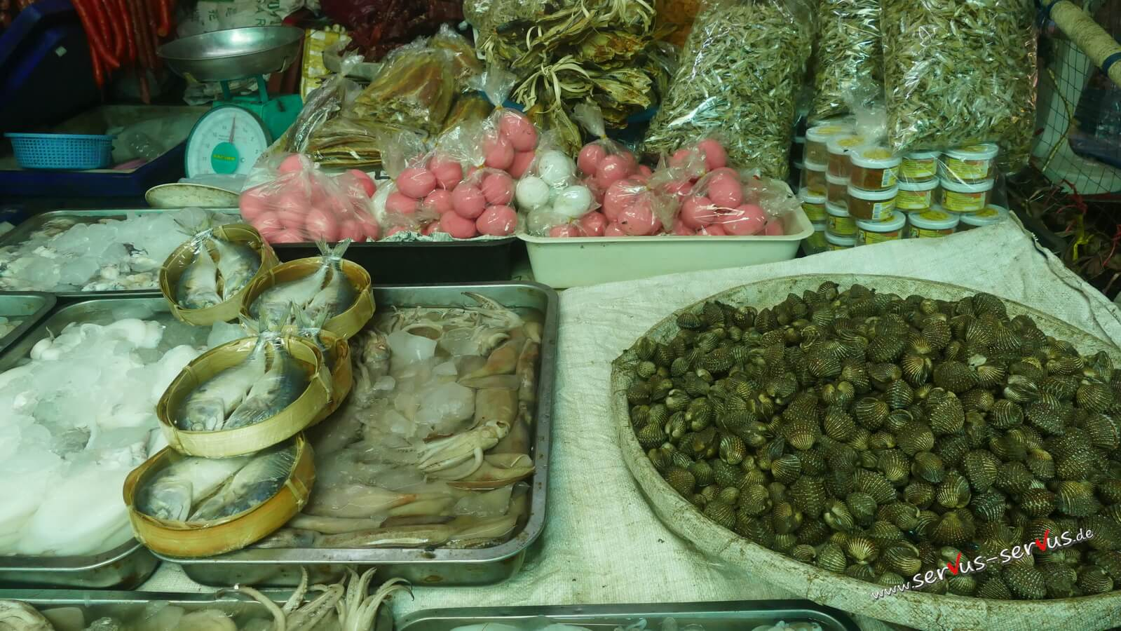fleischmarkt, vientiane, laos
