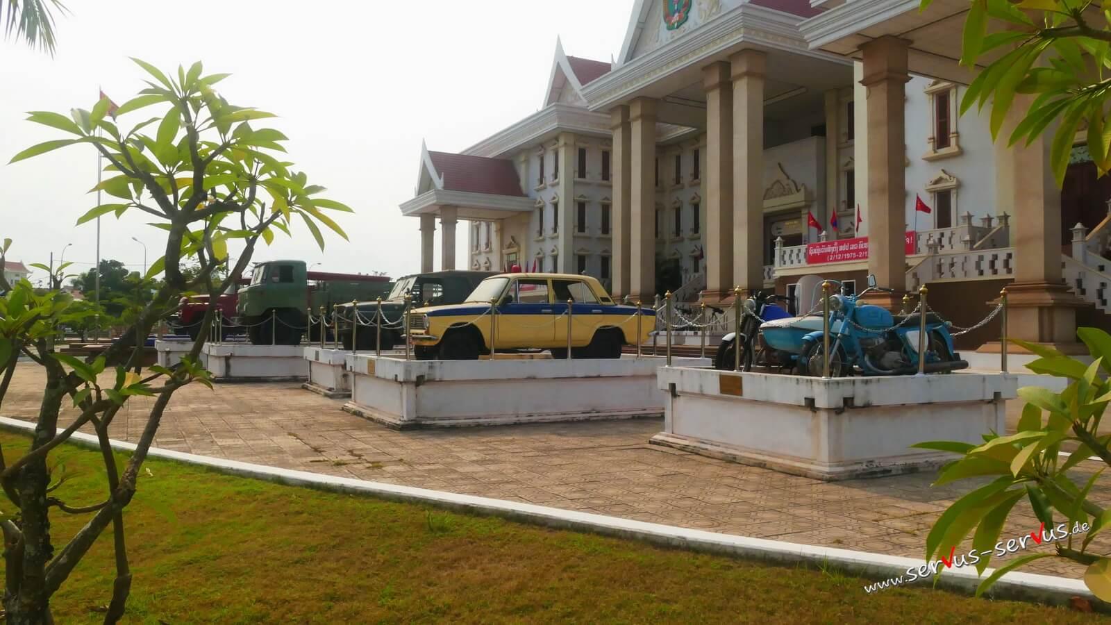 museum, vientiane, laos