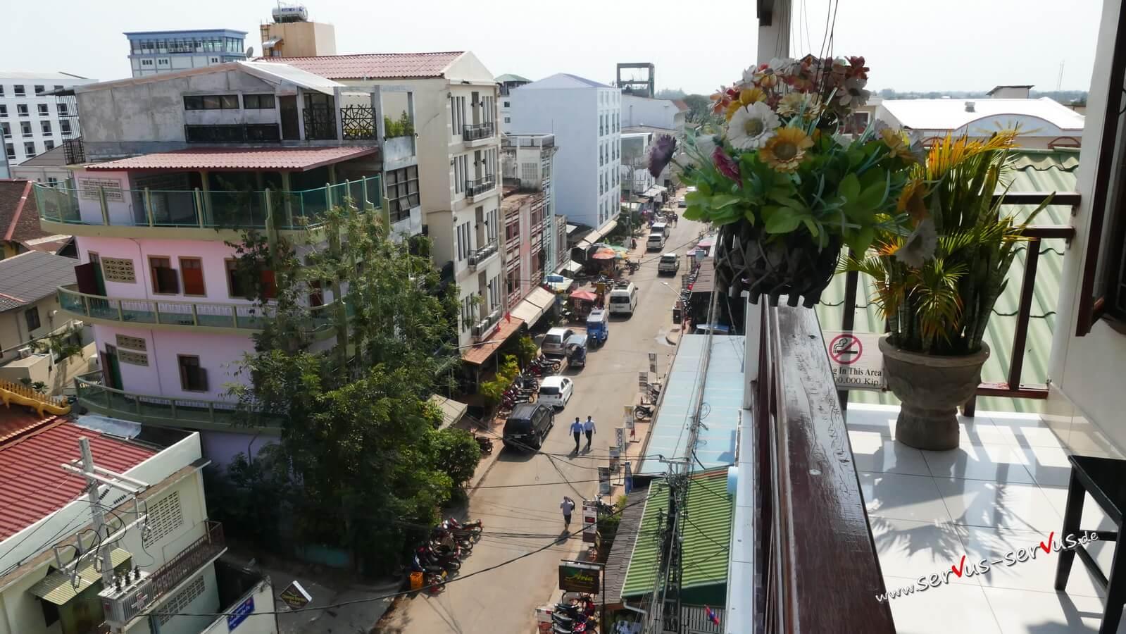 vientiane, Straße, Laos