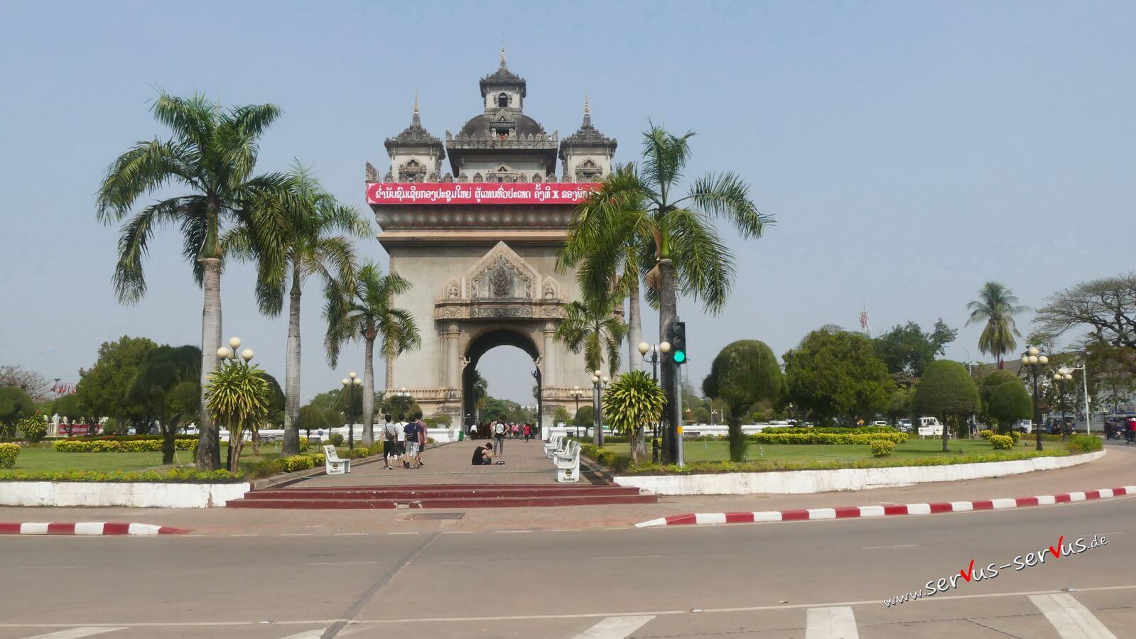 Patuxai, Laos, Vientiane
