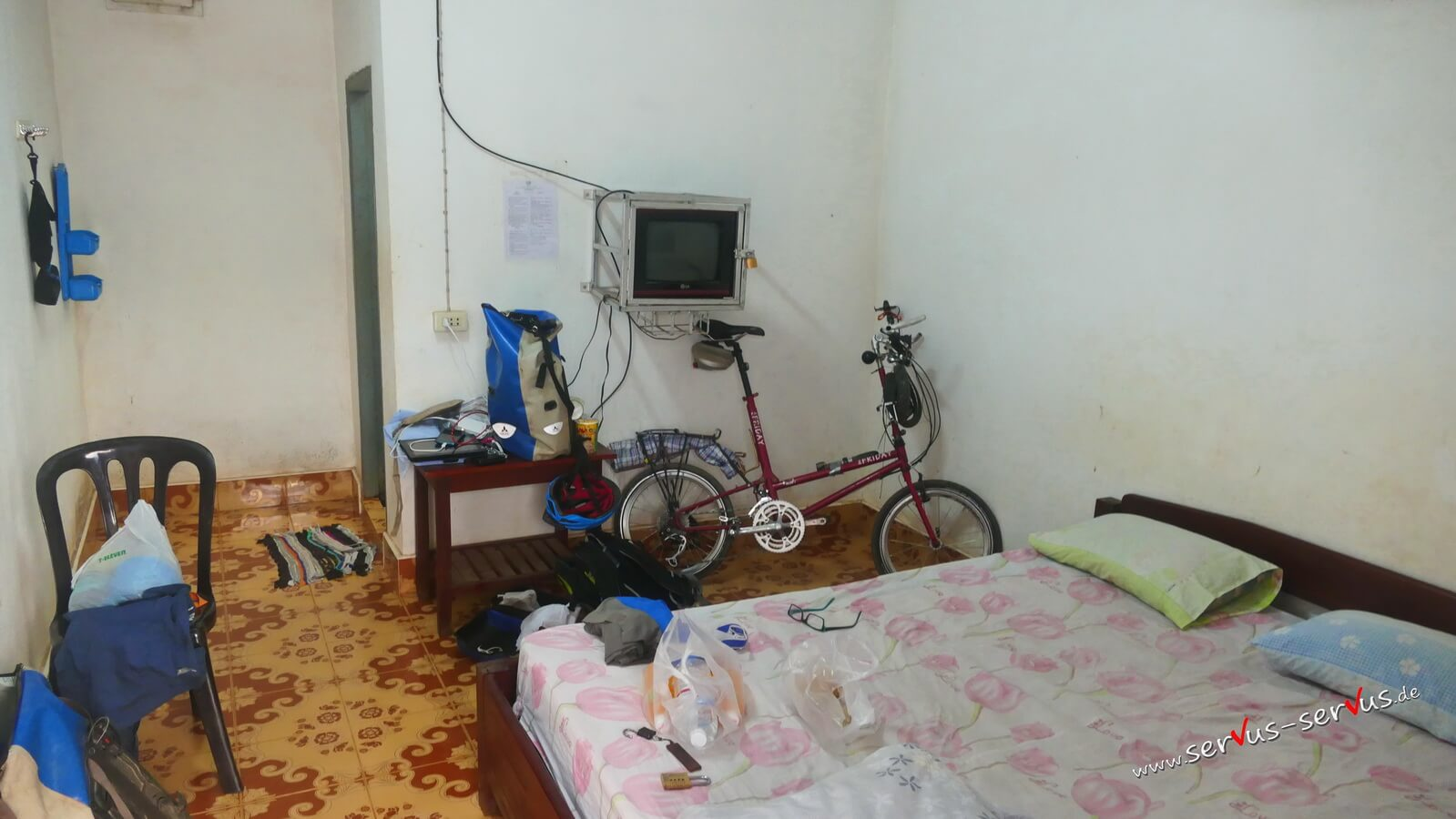 Fernfahrerunterkunft in Vieng Kham