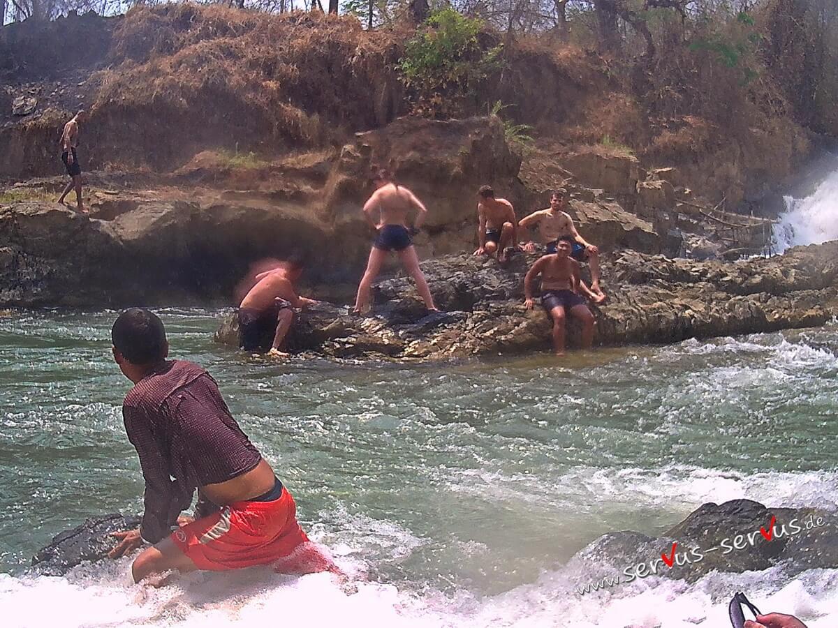 Don Det, Laos, Wasserfall, Khone Pa Soi