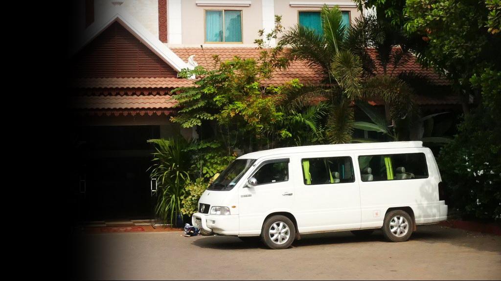 Der Minivan der Transportmafia