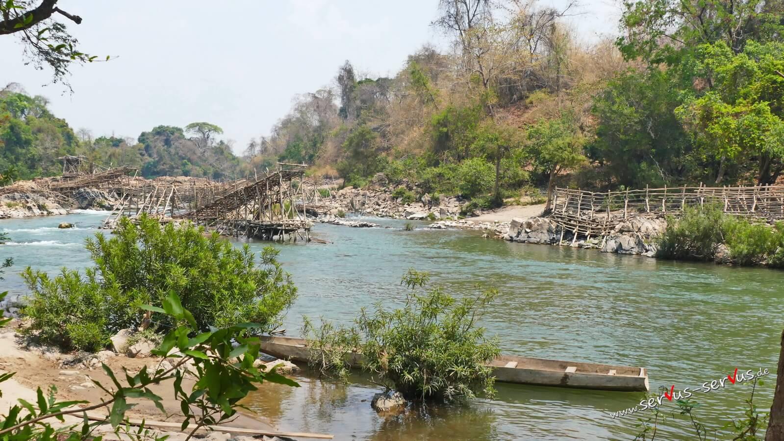 Laos, Mekong, 4000 Inseln, Don Khone
